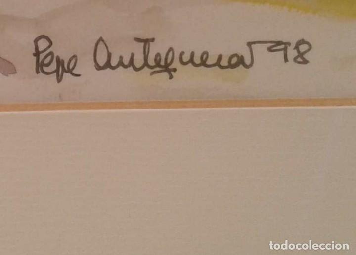 Arte: Acuarela de Pepe Antequera. (Paris 1998) - Foto 3 - 90361748