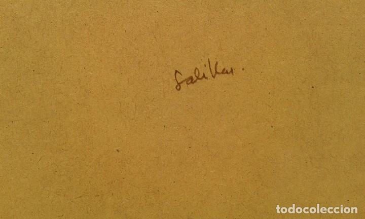 Arte: Acuarela de Pepe Antequera. (Paris 1998) - Foto 5 - 90361748