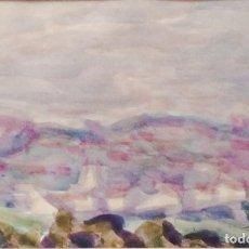 Arte - HERNANDO VIÑES. Acuarela sobre papel. - 90422559