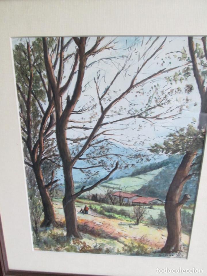 Arte: Pareja de acuarelas -- Fornells Villa 81 -- Girona salt - Foto 3 - 91168595