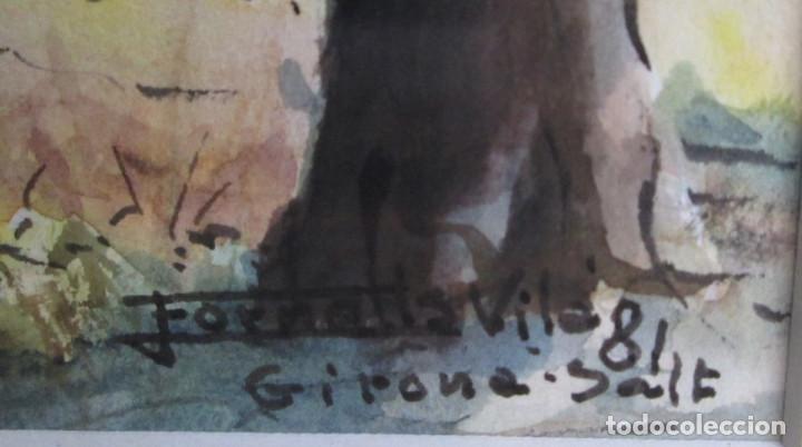 Arte: Pareja de acuarelas -- Fornells Villa 81 -- Girona salt - Foto 5 - 91168595