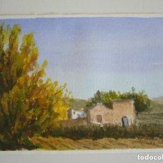 Arte: PAREJA DE ACUARELAS PAISAJE-MARINA ANTONIO TORMO ROSES AÑO 98.LEER DESCRIPCION. Lote 91261460