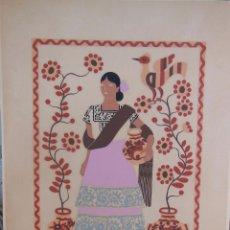 Arte: MEJICANA (GRUPOS ETNICOS MEXICANOS) DE CARLOS MERIDA. Lote 91427345