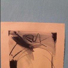Arte: WILLEM KOONING PINTOR NEERLANDES ACUARELA SOBRE PAPEL FIRMADO. Lote 92958165