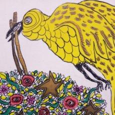 Arte: MIGUEL OURVANTZOFF (RUSIA, 1897-ALARCÓN, CUENCA, 1980) ACUARELA 17,5 X 13,5 CM. Lote 93179779