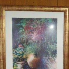 Arte: IMPRESIONANTE OBRA MAESTRA BUGANVILLAS DEL PINTOR ONOFRE PROHENS PAYERAS 57 X 67 CM P. VENTA 6200 E. Lote 93660040