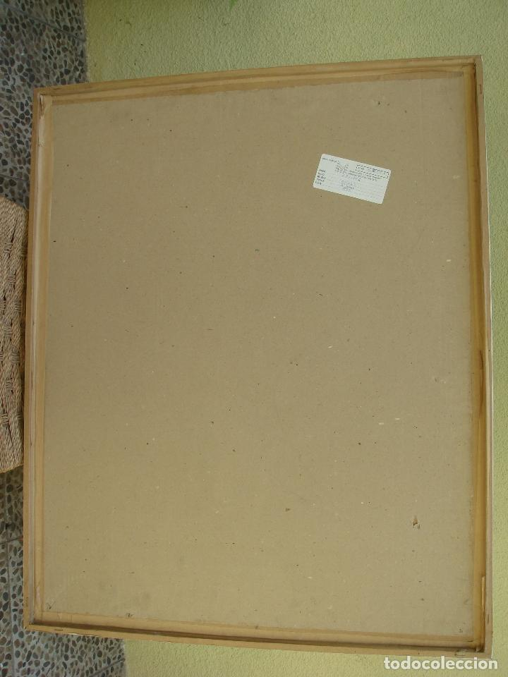 Arte: ORIGINAL OBRA DE KAJUMA. TECNICA DIBUJO. 50 X 64CM. FIRMADO. ENMARCADO. 1977. - Foto 8 - 96091059