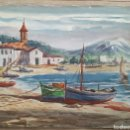 Arte: ANTIGUA ACUARELA DE J. VILLENA 54X41CM. Lote 96093379