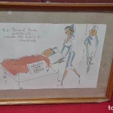 Arte: ACUARELA DE JOAQIM MUNTAÑOLA. Lote 96706819