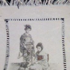 Arte: PINTURA JAPONESA EN ACUARELA Y TINTA EN 100% SEDA - SIG. XIX. Lote 99951496