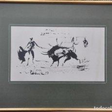 Arte: DIBUJO ORIGINAL A TINTA SOBRE PAPEL FIRMADA Y FECHADA EN 1987. Lote 97318847