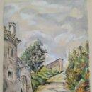 Arte: ACUARELA DE JOAN CARDONA AÑOS 40. Lote 97392275