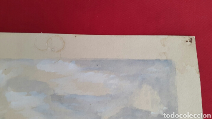 Arte: ACUARELA DE JOAN CARDONA AÑOS 40 - Foto 6 - 97392275