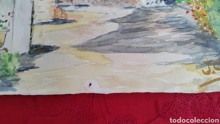 Arte: ACUARELA DE JOAN CARDONA AÑOS 40 - Foto 5 - 97393428