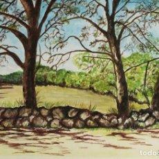 Arte: ARBOLES OBRA DE GILABERTE. Lote 97692323