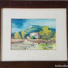 Arte: PAISAJE RURAL. DANES BERGA (1945). Lote 100363163