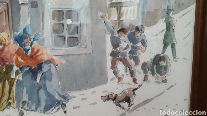 Arte: ACUARELA ANDREU RAGINEL FERRET (LYON 1936) - Foto 4 - 100765022