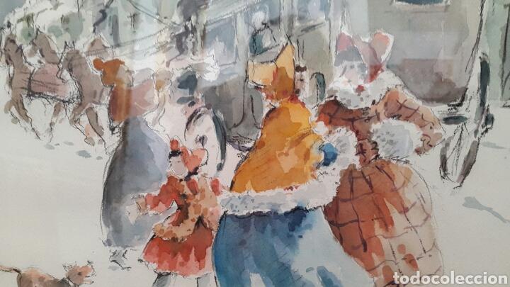 Arte: ACUARELA ANDREU RAGINEL FERRET (LYON 1936) - Foto 3 - 100765328