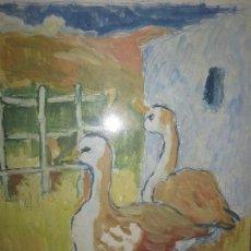 Arte: ANTIGUA ACUARELA ATRIBUIDO A SALVADOR TORRE NARVAEZ TORRES MALAGA OLEO EN CARTULINA. Lote 101587739