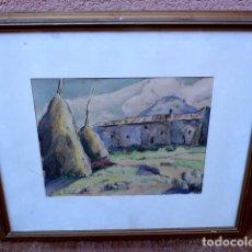 Arte: ACUARELA.AMADOR VIÑOLAS I FELIU(ARENYS DE MAR 1915). Lote 101773791