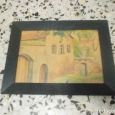 Arte: ACUARELA FIRMADA DEL 1903. Lote 102552263