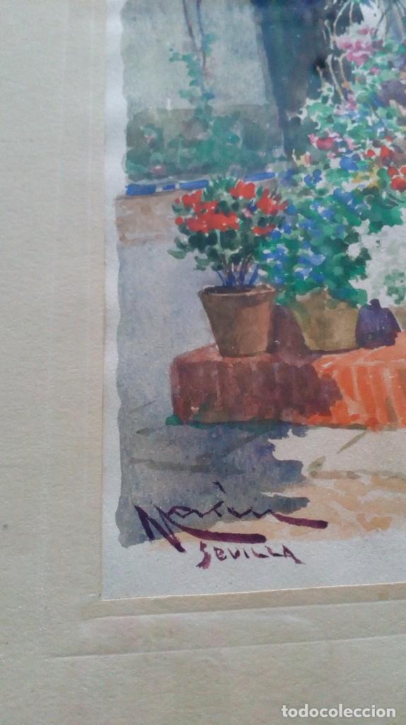 Arte: Pareja de acuarelas de Diego Marín López (Granada 1865-1917) - Foto 10 - 102552523