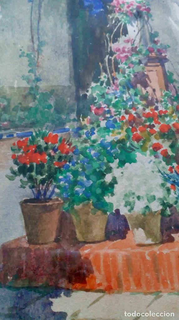 Arte: Pareja de acuarelas de Diego Marín López (Granada 1865-1917) - Foto 19 - 102552523