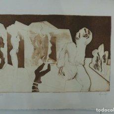 Arte: ALFONSO COSTA BEIRO. (NOIA, CORUÑA 1943) GRABADO. Lote 102958127