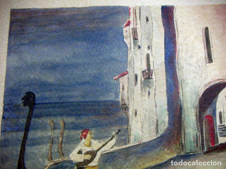 Arte: Acuarela de Venecia 1932 firmada - Foto 3 - 102994975
