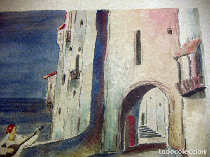 Arte: Acuarela de Venecia 1932 firmada - Foto 5 - 102994975