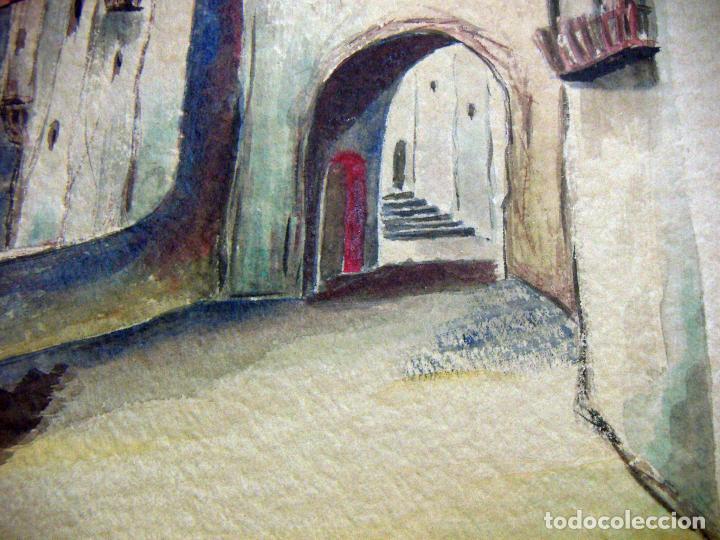 Arte: Acuarela de Venecia 1932 firmada - Foto 6 - 102994975