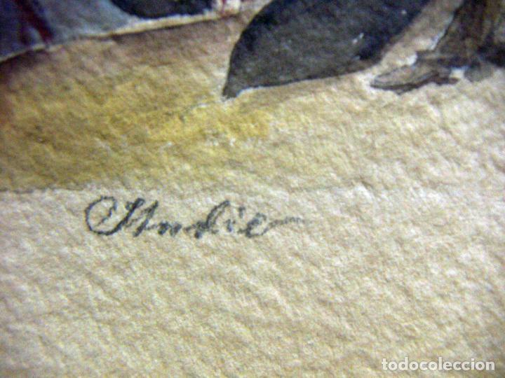 Arte: Acuarela de Venecia 1932 firmada - Foto 7 - 102994975