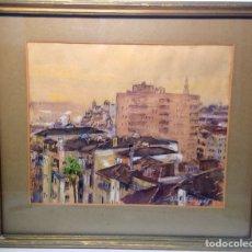 Arte: ACUARELA FIRMADA Y FECHADA EN 1947.. Lote 103594474
