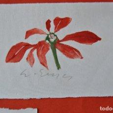 Arte: ACUARELA FIRMADA. Lote 103998819