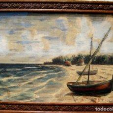 Arte: ELEUTERIO BAUSET (1906-1980). ACUARELA FECHADA EN 1964.. Lote 104012111