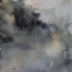Arte: CIELOS EN LA TOSCANA. ACUARELA SOBRE PAPEL.. Lote 104040727