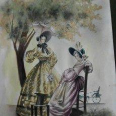 Arte: ACUARELA DE VIRGILI DE PRINCIPIOS DE SIGLO XX. Lote 104646883