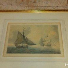 Arte: ESCUELA INGLESA S.XVIII.ATRIBUIDA A COPLESTONE WARRE BAMFYLDE.FECHADA Y FIRMADA.. Lote 105013043