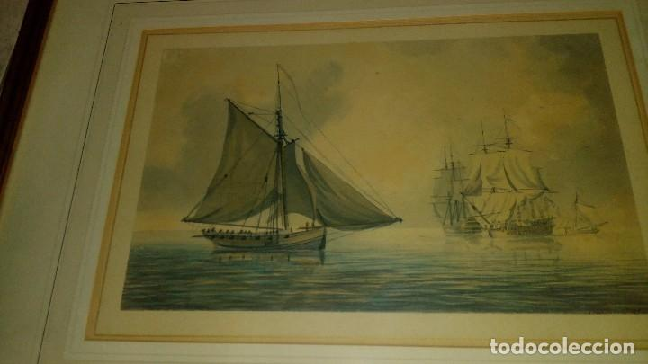 Arte: ESCUELA INGLESA S.XVIII.ATRIBUIDA A COPLESTONE WARRE BAMFYLDE.FECHADA Y FIRMADA. - Foto 2 - 105013043