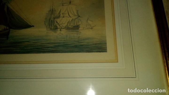 Arte: ESCUELA INGLESA S.XVIII.ATRIBUIDA A COPLESTONE WARRE BAMFYLDE.FECHADA Y FIRMADA. - Foto 3 - 105013043