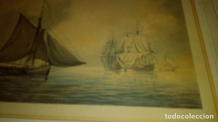 Arte: ESCUELA INGLESA S.XVIII.ATRIBUIDA A COPLESTONE WARRE BAMFYLDE.FECHADA Y FIRMADA. - Foto 5 - 105013043