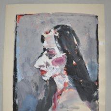 Arte: LUTZ HEYDER , 1950 - 2000 , ACUARELA ORIGINAL . Lote 105331499