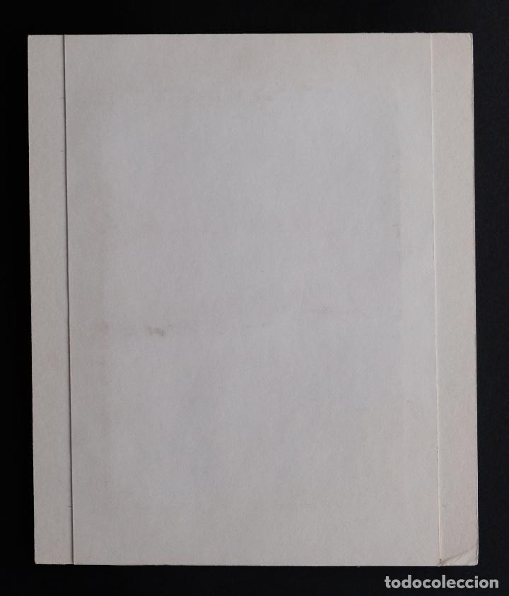 Arte: Acuarela y gouache sobre papel Figura masculina firmada tercer tercio siglo XX - Foto 5 - 105647875