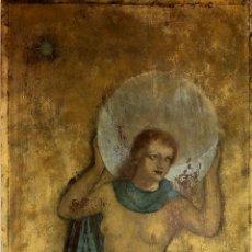 Arte: 4 ALEGORÍAS. PASTEL Y ACUARELA. SOBRE AGLOMERADO. ANÓNIMO. ESPAÑA. CIRCA 1940. Lote 105802395
