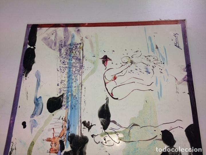 Arte: PLAYA DE SITGES. PINTURA. ACUARELA SOBRE PAPEL COUCHÉ. FIRMADO. ESPAÑA. 1996 - Foto 4 - 106146795