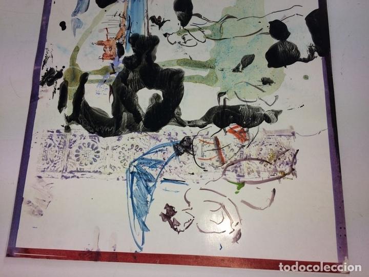 Arte: PLAYA DE SITGES. PINTURA. ACUARELA SOBRE PAPEL COUCHÉ. FIRMADO. ESPAÑA. 1996 - Foto 7 - 106146795