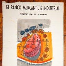 Arte: ARNAU ALEMANY - ACUARELA EN CARTEL - FIRMADO - PRIMERA ÉPOCA. Lote 106739443