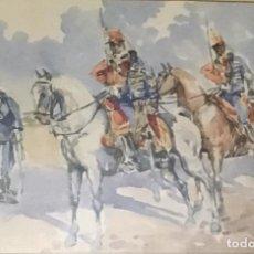 Arte: A SUS ÓRDENES MI COMANDANTE, POR JOSÉ VALENCIANO GAYÁ (MURCIA 1900-1970). Lote 106997591