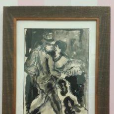 Arte: ACUARELA JORDI SARRÁ I RABASCALL (VILASECA 1935-REUS 1990). Lote 107728478