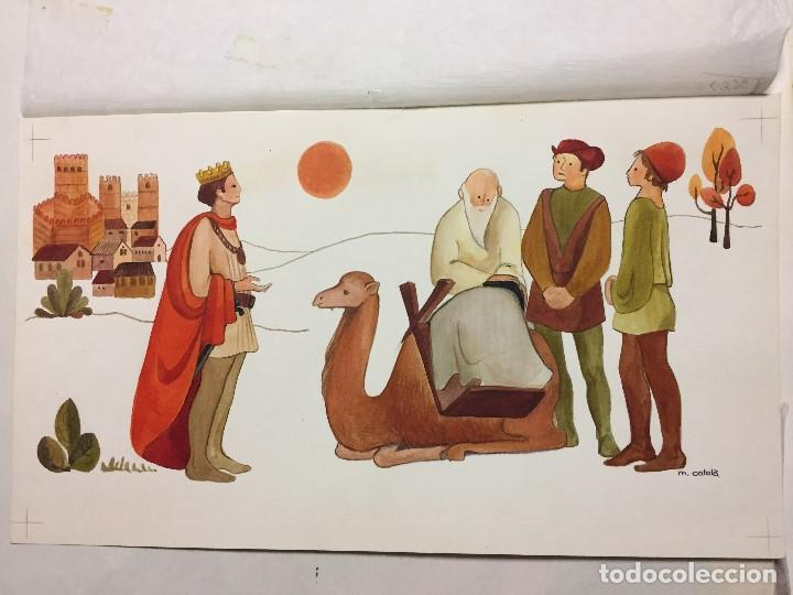 Arte: original de Mireia Catala para Enciclopedia Infantil, firmada y catalogada,40x30cms. - Foto 3 - 108013239
